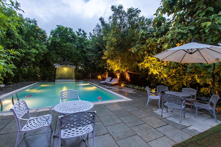 ivybridge farm- Luxurious 5 BR farmstay in Manesar