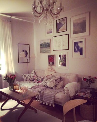 Cozy apartment with walking distance to Södermalm - Estocolmo - Apartamento