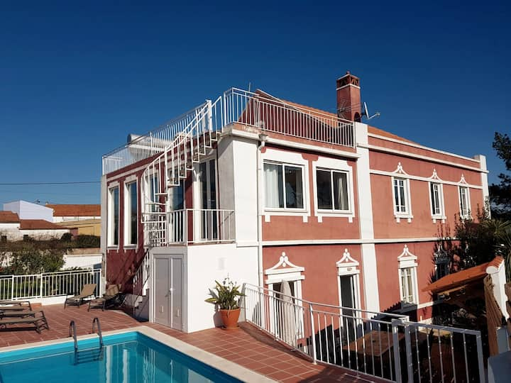 Large 1930s luxury villa with character and Pool