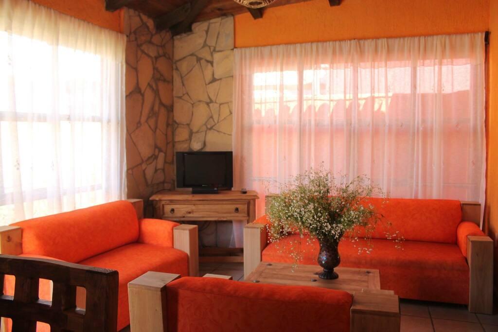 Sala cabaña 1