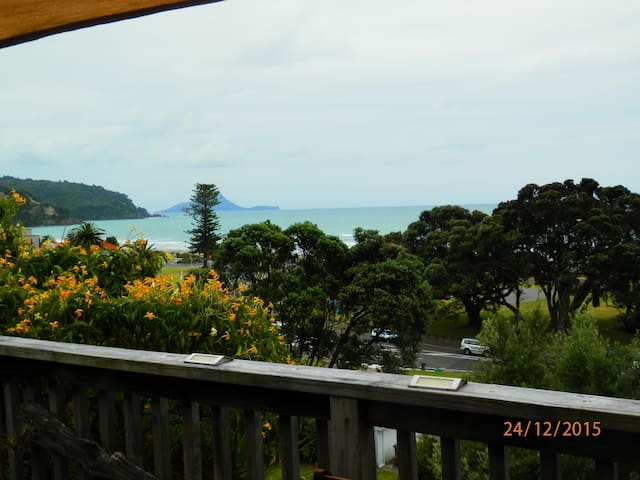 Elevated, expansive ocean views WOW - Ohope - Apartemen