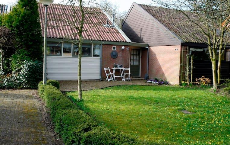 gezelige bungalow vlakbij schoorl - Warmenhuizen - Houten huisje