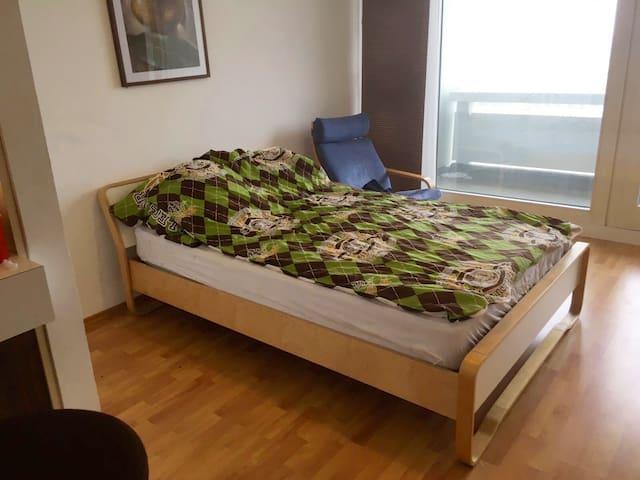 1-Zimmer-Wohnung im 13. Stock des Olympiazentrums - Monaco - Condominio