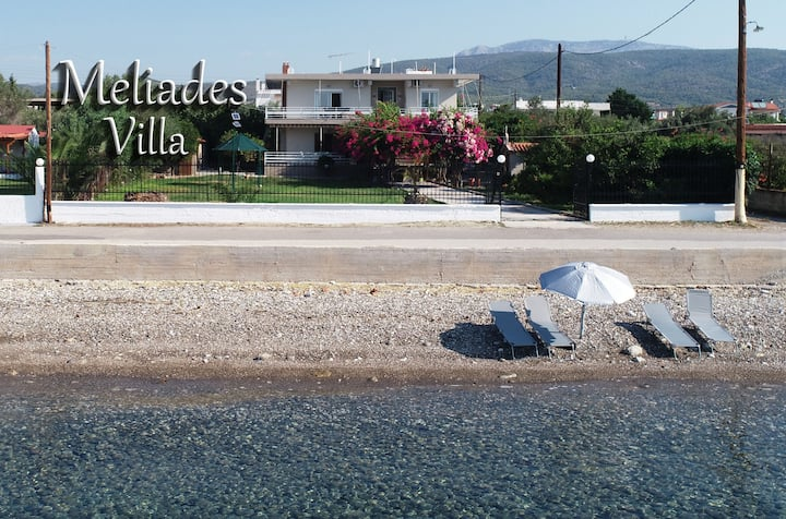 """Meliades Villa"", seaside ap, UV disinfected, 8ppl"