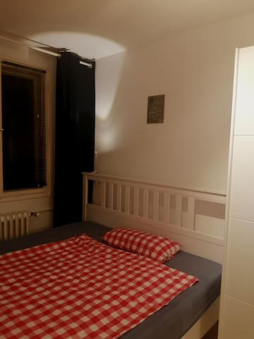 Cozy room near S Bahn and Metro in green quit area