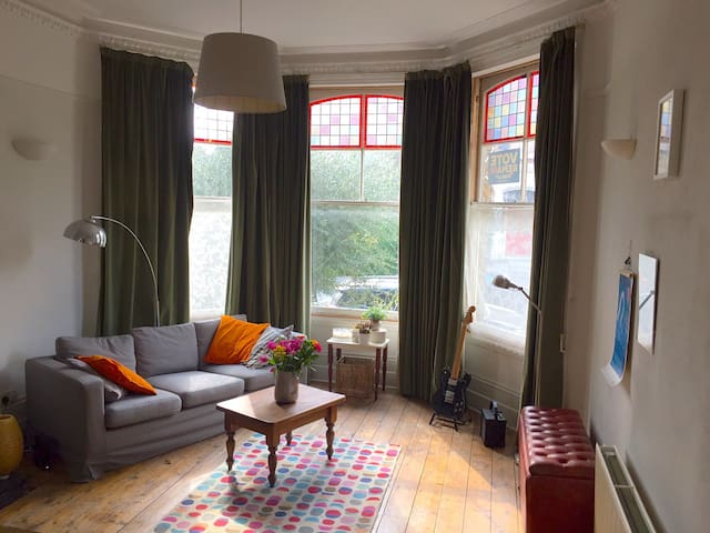 Large Victorian garden flat in Hackney