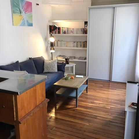 Appartement charme et lumière proche Batignolles