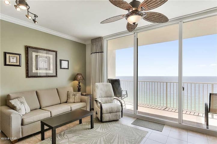 Spacious Beachfront Condo w Incredible Views! 1710