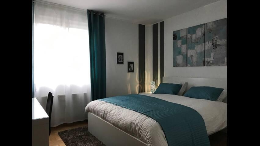 Logement entier cosy et moderne 3 rooms & 2 baths