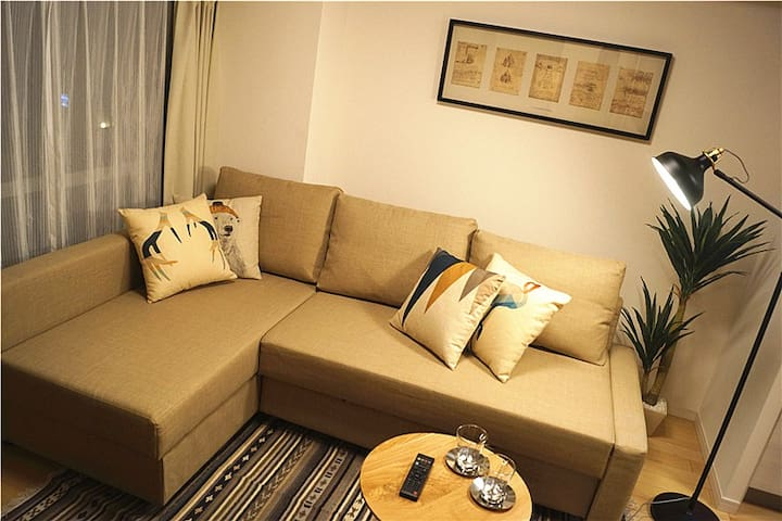 ★Walk to Ueno & Asakusa★ 2-room private residence - Taitō-ku - Byt