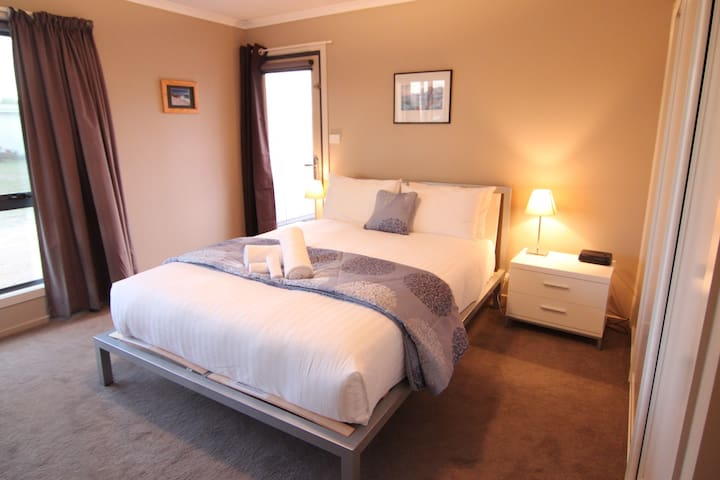 Third bedroom - also queen - on lower level