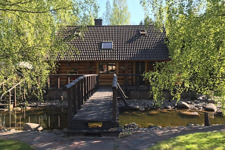 Excellent log house with a sauna in Lahemaa!