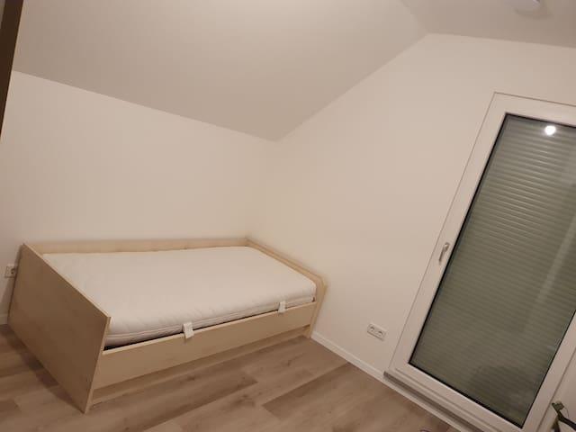 Helles Gästezimmer mit 11,5qm