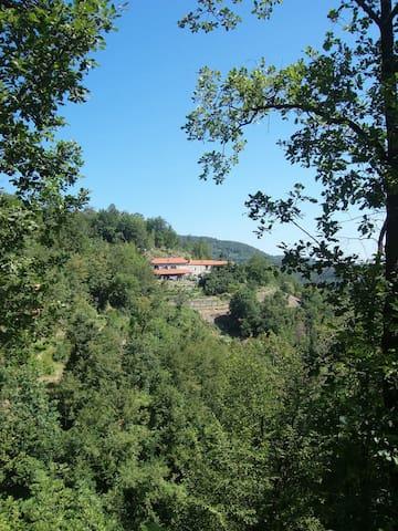 Casetta nelle Langhe Liguri. - Piana Crixia