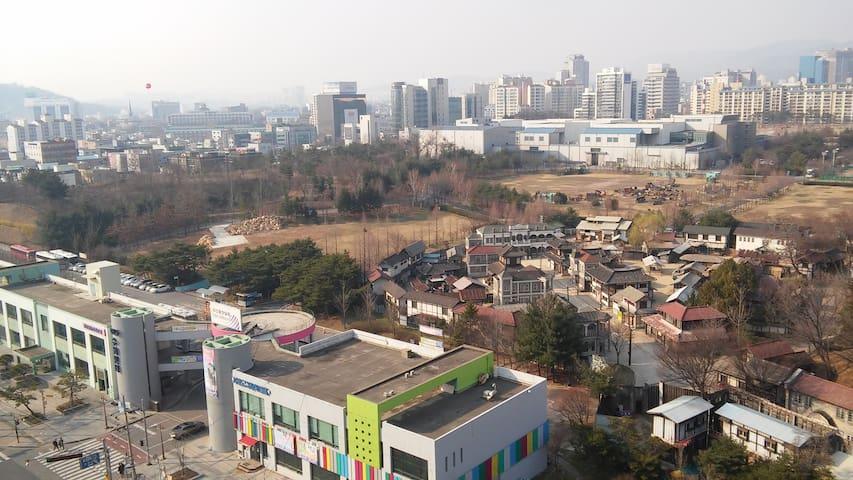 번화가 원룸입니다 - Paldal-gu, Suwon - Apartamento