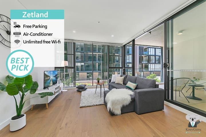 """""""Mid-Long Term Available Inquire""""  Zetland Walk to East village 2BED APT FREE Parking"""