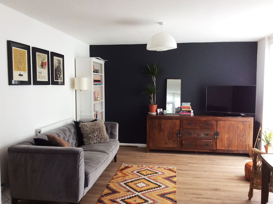 Open and bright living space