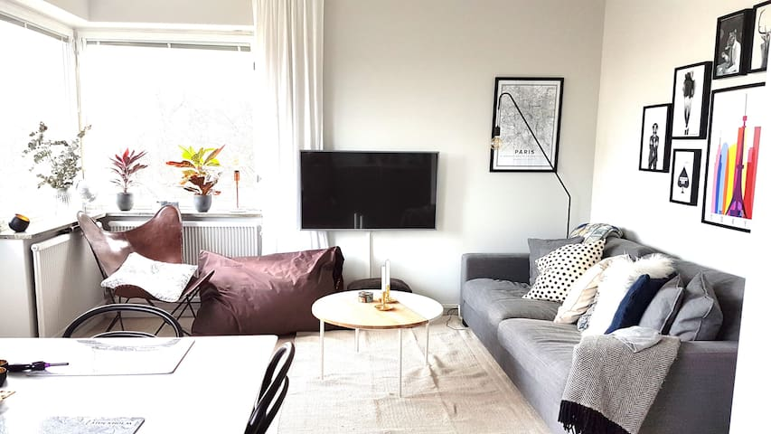 2 room apart, close to Stockholm city and nature - Sztokholm - Apartament