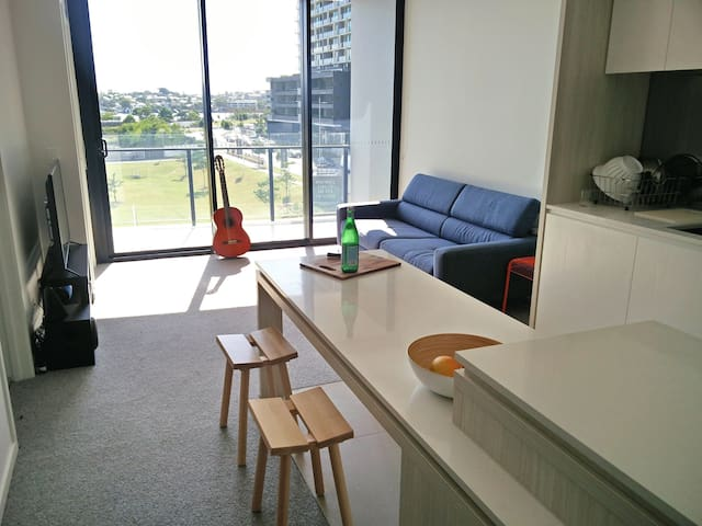 The Best Apartment in Newstead - No Competition!