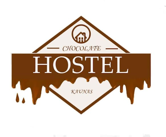 Chocolate hostel White room