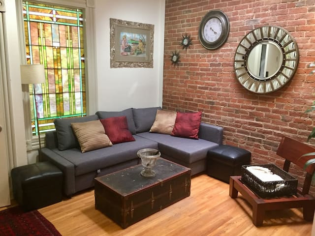 Cozy, secure, LoDo loft on 15th/16th St. on Blake.