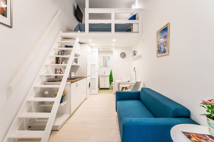THE NEST Compact tiny apt (15sqm) at the Danube