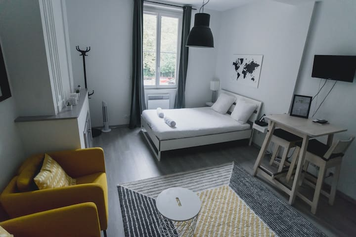 Fresh and Cosy Studio in Carmes Area