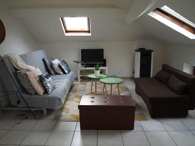 Appartement spacieux et lumineux