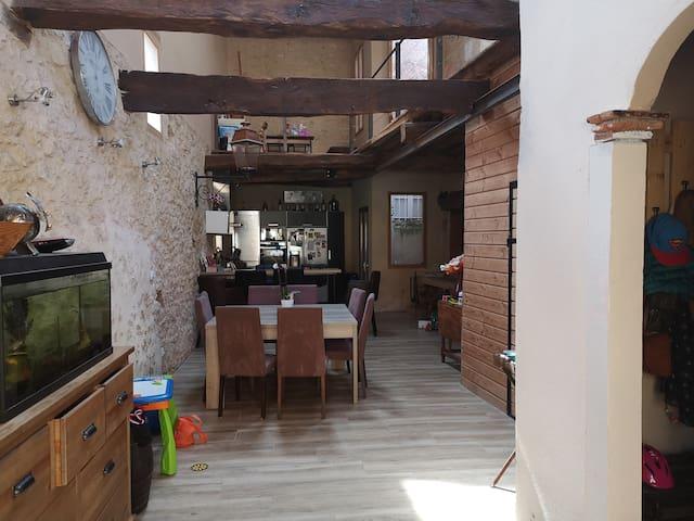 Maison atypique de 180m2