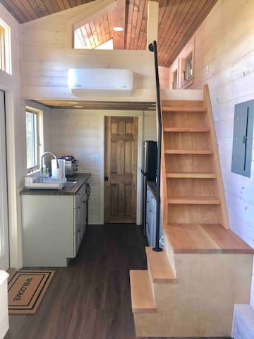 """""""I would highly recommend this home to anyone, especially those looking for a tiny home experience."""" - Previous Guest"""