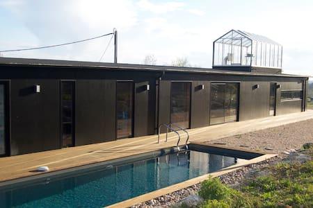 Maison d'architecte moderne au milieu des vignes - Belvès-de-Castillon