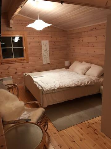 Главная спальня с 2-х спальной кроватью