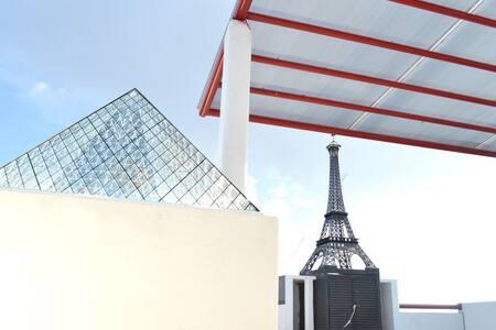Departamento Paris Roof top