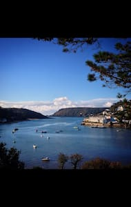 Beautiful apartment on the seafront - Salcombe - Apartamento