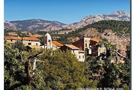 Loue maison - Village Corse - Marignana