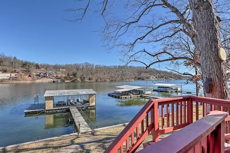 NEW! Cozy Lake of the Ozarks Home w/ Private Dock