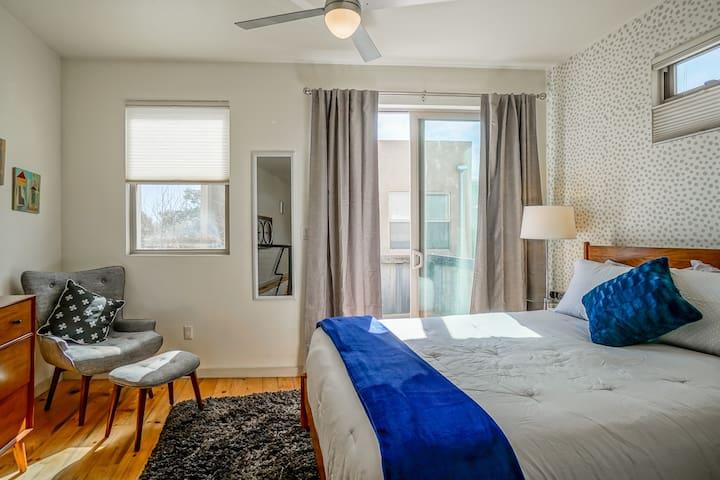 Patio off bedroom