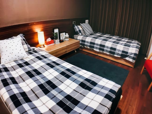 TWIN BEDS APT @ Gangnam Stn. - 서울특별시 - Lägenhet