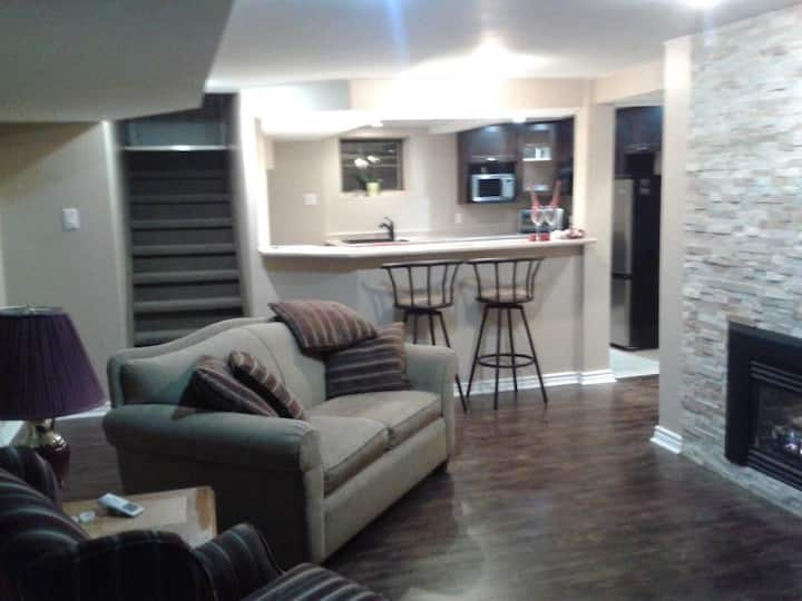 Stunning 2 bedroom Basement Suite