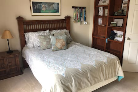 Private 3 bd. upstairs in a shared house