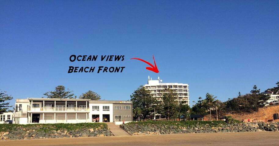 Beachside Unit Ocean Views with all Amenities - Yeppoon - Appartement