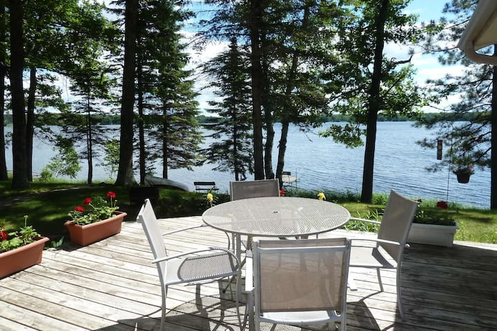Lakefront Cabin w/ Stunning Views & Private Dock!