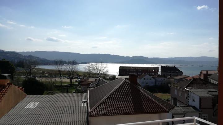 Moaña, Ría de Vigo. Apartamento  2 dormitorios.
