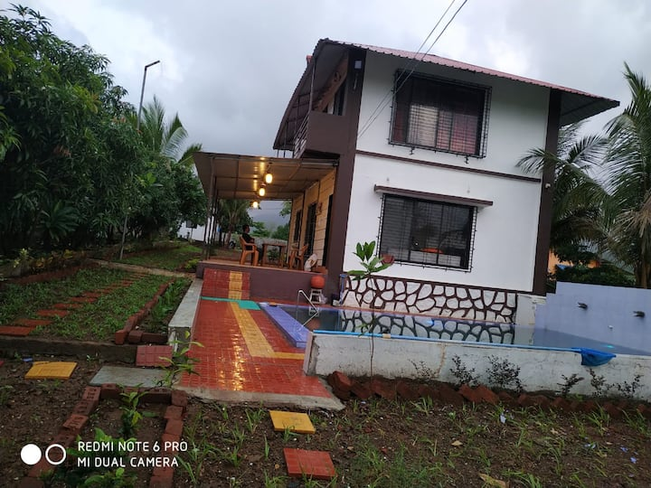 5BHK Valley View Farmhouse attached Swimming Pool