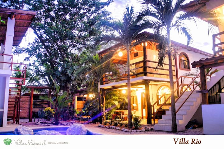 Villa Rio - pool, kitchen, walk to Samara beach