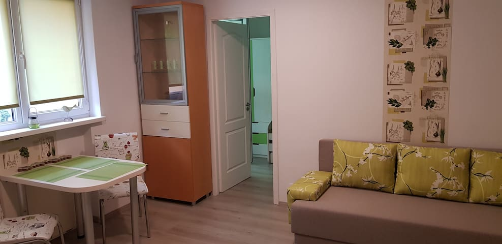 Green Apartman – csendben, rendben, zöldben