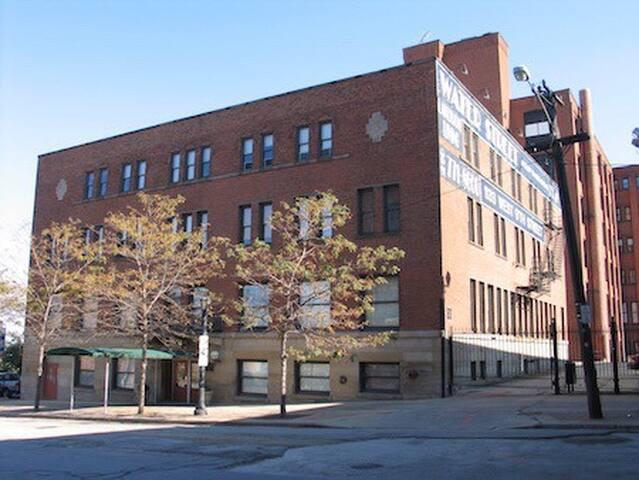 Downtown Loft Heart of CLE - Cleveland - Apto. en complejo residencial