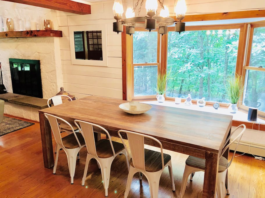 Huge dining room table
