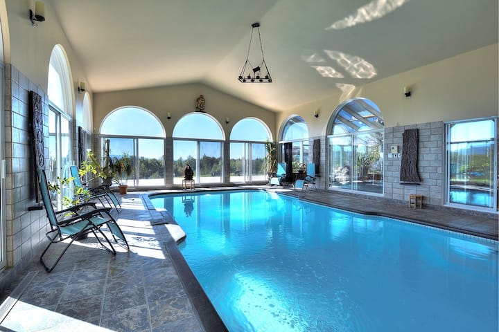 Stunning villa near Mt Sutton & Jay Peak
