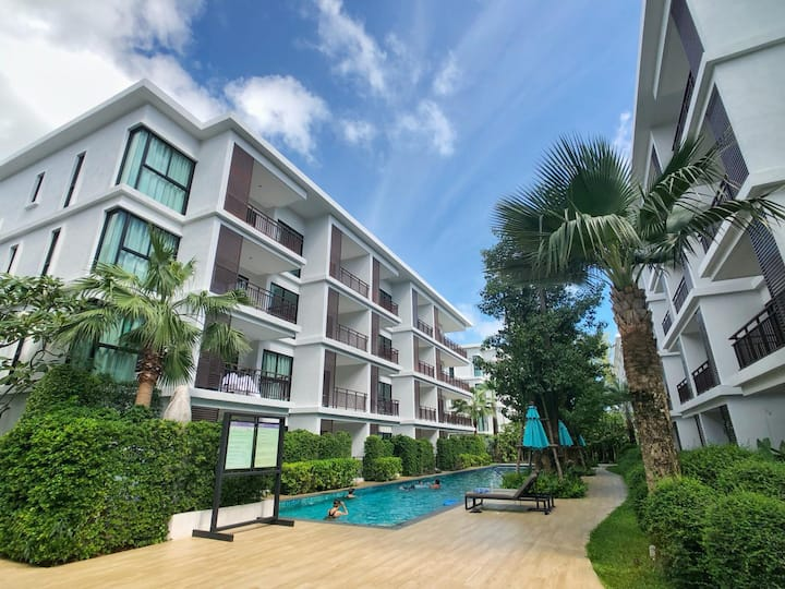 Garden access condo @ The Title Rawai Phase III